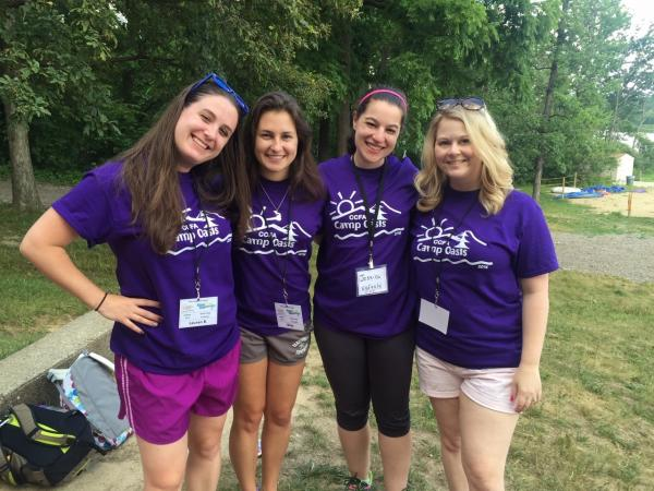 Crohn's & Colitis Foundation Camp Oasis Counselors